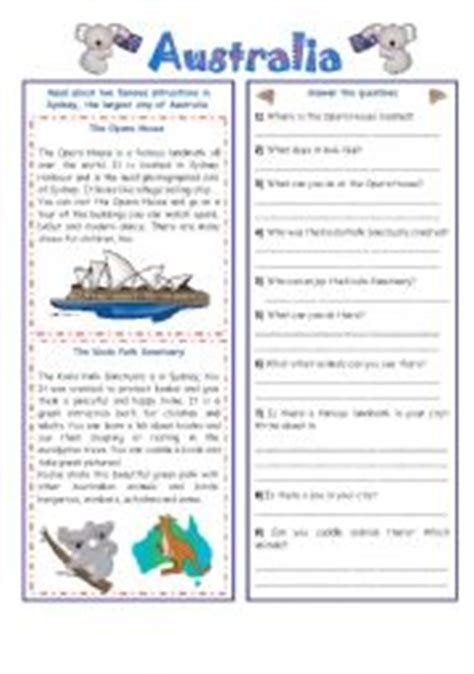 australia new zealand quiz worksheet free esl english worksheets year 10 australia year 7 introduction
