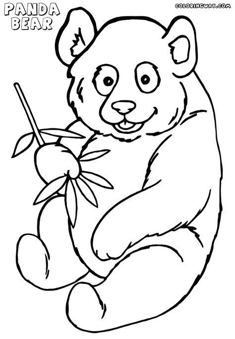 coloring pages of panda bear panda bear face coloring coloring pages