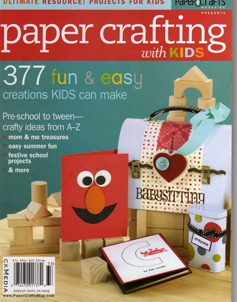 paper crafts scrapbooking magazine on