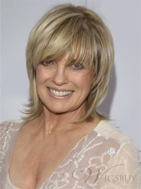 haircuts for straight grey hair elegant custom linda gray hairstyle short layered straight