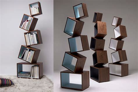 Floating Shelf Bookcase 12 Playful And Unusual Bookcases Design Swan