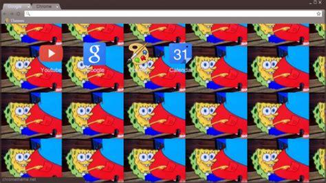 theme google chrome spongebob spongebob dank memes chrome theme themebeta