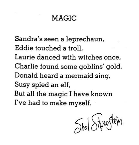 black magic a poem books 17 best images about shel silverstein on