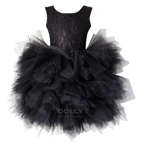 Tutu Dress Black by Ballerina Style Black Tutu Dress Le Petit Tom Sale