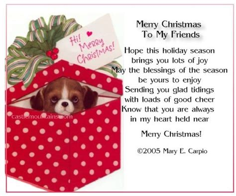 merry christmas friendship quotes. quotesgram