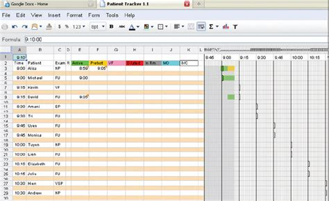 patient tracking template ophthalmology management managing patient flow in a busy