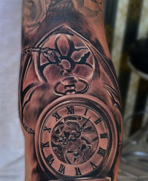 clock tattoos clock tattoos designs pictures page 10