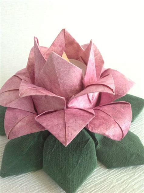 How To Make Paper Lotus Lantern - 25 best ideas about origami lantern on