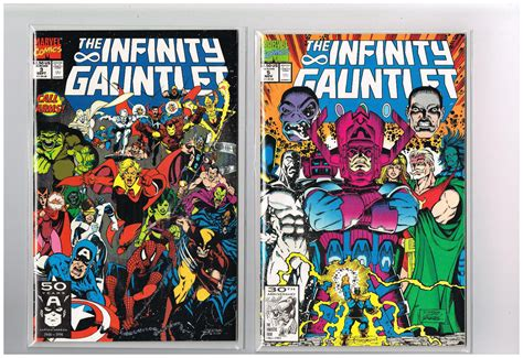 infinity gauntlet series the infinity gauntlet 6 part copper age series by starlin