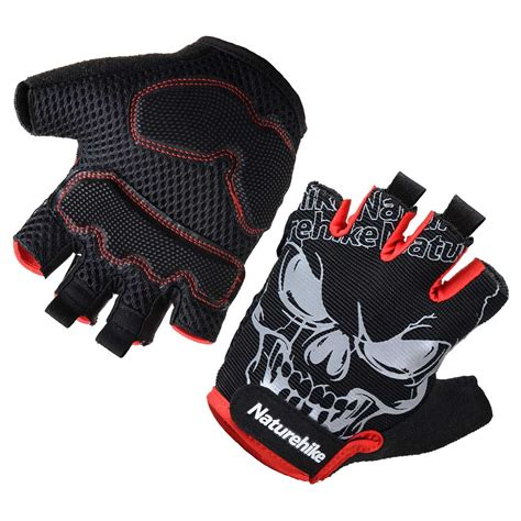 Cycling Half Finger Glove outdoor half finger cycling gloves naturehike