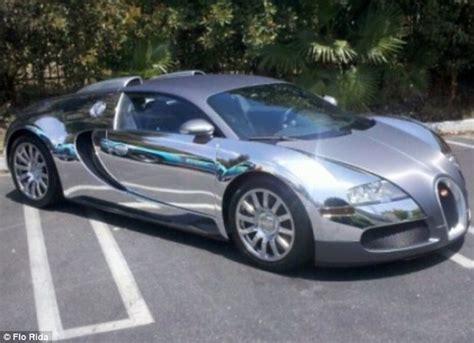 Silver Car Name Ideas by Flo Rida S Gold Bugatti Rapper Spares No Expense As He