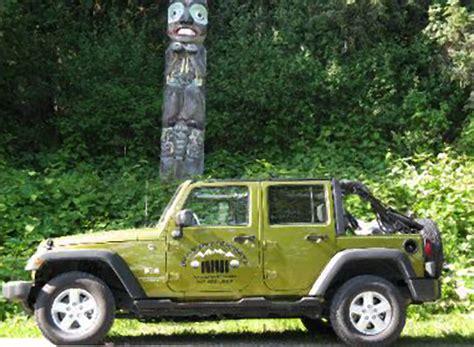 Jeep Hours Alaska Sightseeing
