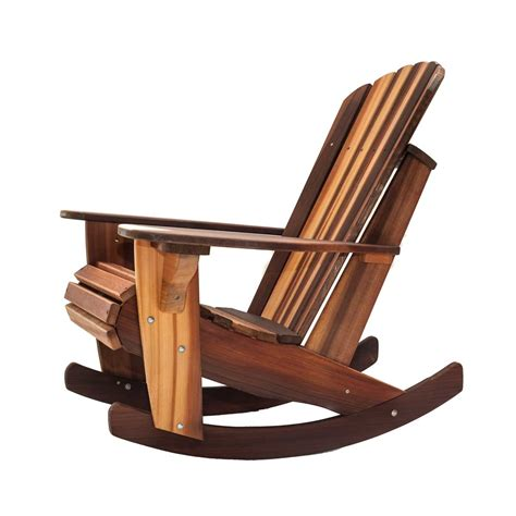 handcrafted adirondack cedar rocker chairs amp adirondack cedar rocking chair kits