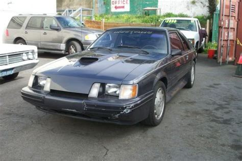 how petrol cars work 1984 ford mustang on board diagnostic system buy used 1984 ford mustang svo all original needs some work in san francisco california