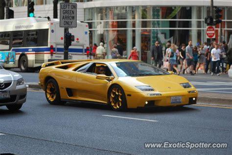 Lamborghini Of Chicago Lamborghini Diablo Spotted In Chicago Illinois On 03 15 2012
