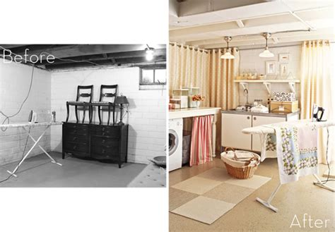 basement laundry room before and after roundup 7 stunning laundry room makeovers 187 curbly diy