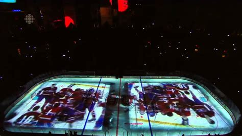 intro the game montreal canadiens pre game intro game 3 vs lightning