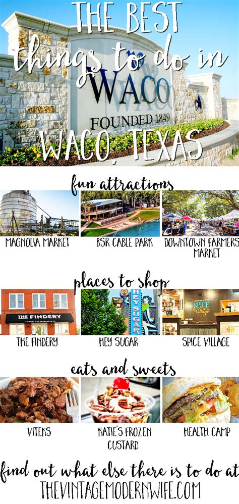 25 things to do in waco texas on your magnolia market things to do in waco tx 28 images 25 things to do in