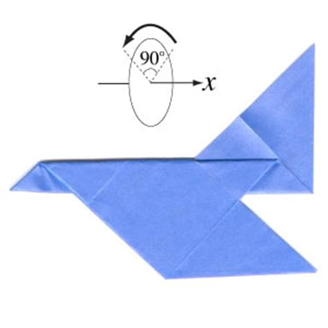 Origami Aeroplane Easy - how to make a simple jet plane page 5 hairstyles