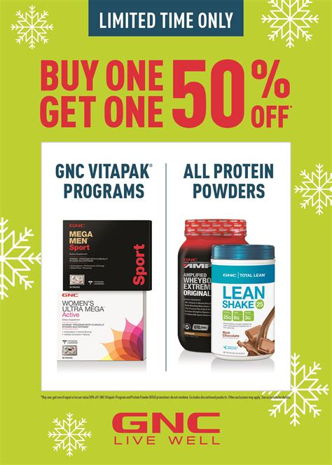 gnc new year promotion gnc dec 22 28 promotion hemet valley mall