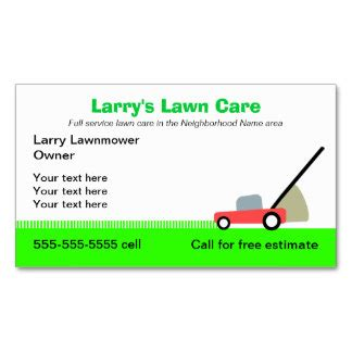 Grass Cutting Business Card Templates by Lawn Care Service Quote Template Image Quotes At Relatably