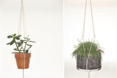 Diy Hanging Plant Holder - thursday may 31 2012