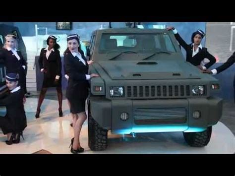 paramount marauder vs hummer marauder patrol launch at aad 2012 paramount group youtube