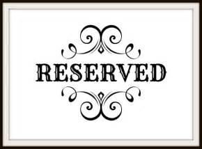 reserved parking signs template reserved sign template pictures to pin on