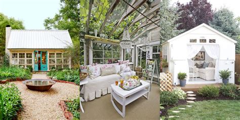 Win A Backyard Makeover 17 Charming She Shed Ideas And Inspiration Cute She Shed