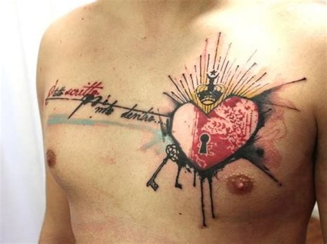 heartbeat tattoo male exzellent herz ideen teil 10 tattooimages biz