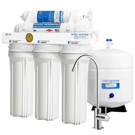 Water Filter System Sink by Apec Water Systems Ultimate Premium Quality Wqa Certified