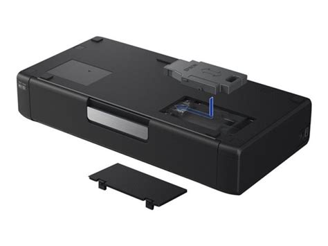portable color printer epson workforce wf 100w wireless portable colour inkjet
