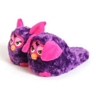 stompeez slippers size guide buy stompeez purple furby slippers size xs at