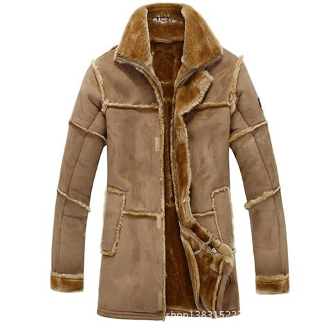 large coats 2015 winter new thicker fur leather large size jacket mens jackets winter mens