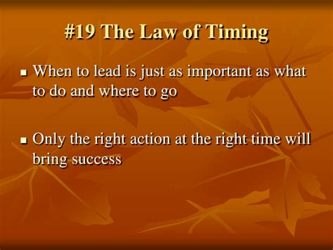 21 irrefutable laws of leadership follow them and people will