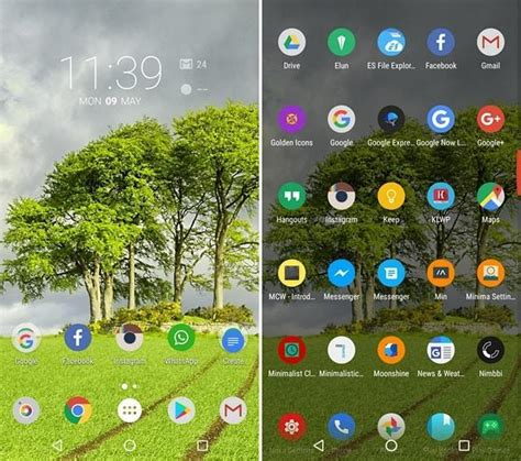nova launcher uccw themes 10 cool nova launcher themes that look amazing beebom