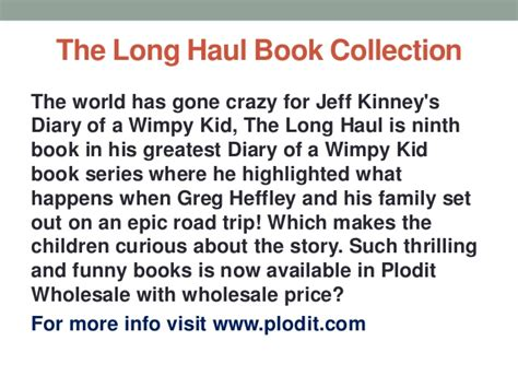 diary of the wimpy kid book report the haul book collection