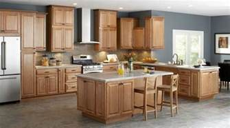Oak Cabinets Kitchen Design Unfinished Oak Kitchen Cabinet Designs Rilane