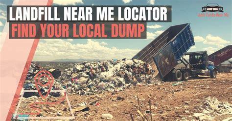 landfill   finder locator map guide faq