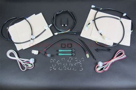 jeep heated seats kit 06 12 dodge ram 1500 2500 3500 heated seat kit for front
