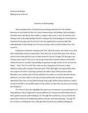 Anthropology Research Template Anthropology Term Paper