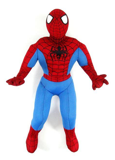 classic plush standing classic spiderman standing plush measures  tall  spiderman