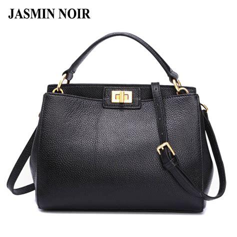 Tote Bag Hitam New 2017 fashion new leather handbags litchi messenger bag crossbody bag brand designer