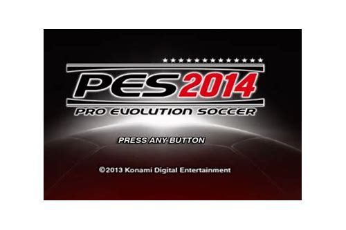 pes 2014 psp download android