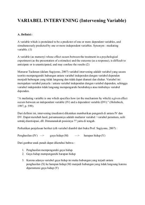 tesis akuntansi dengan variabel intervening variabel intervening mediation mediasi perantara