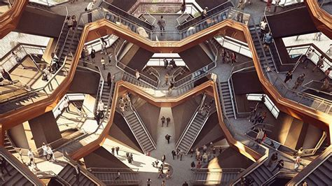Inside Celebrity Homes by New York City S Newest Landmark Is A 200m Stairway To