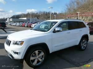 2014 bright white jeep grand limited 4x4