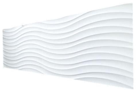 3d wavy pattern ceramic wall tile white matte 12 quot x 36 quot 1 pallet 32 boxes contemporary