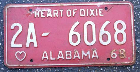 Plates Unrestoredalabamalicenseplates Alabamaplates