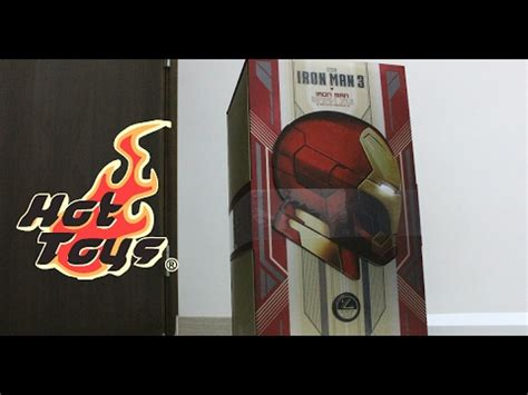 unboxing hot toys iron man iron man mark